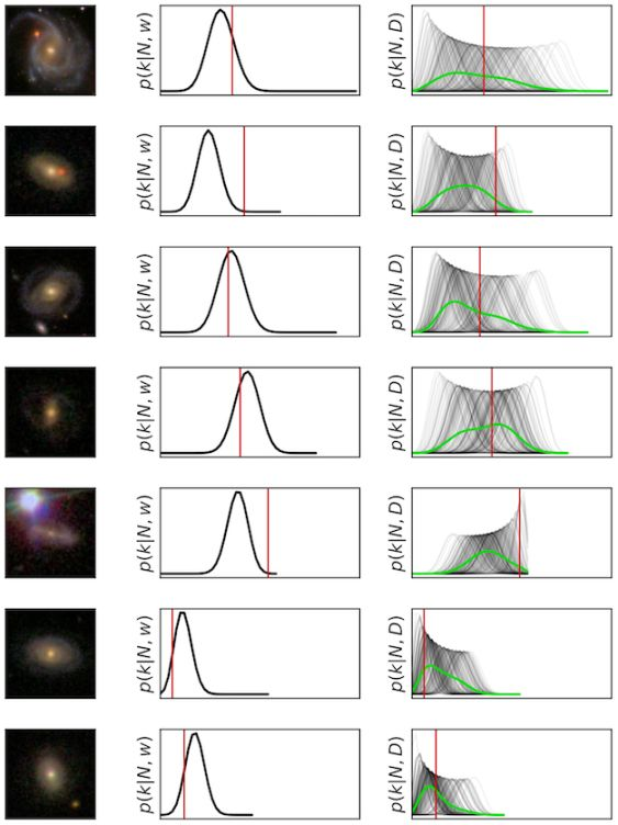 Galaxy Zoo: Probabilistic Morphology through Bayesian CNNs and Active Learning